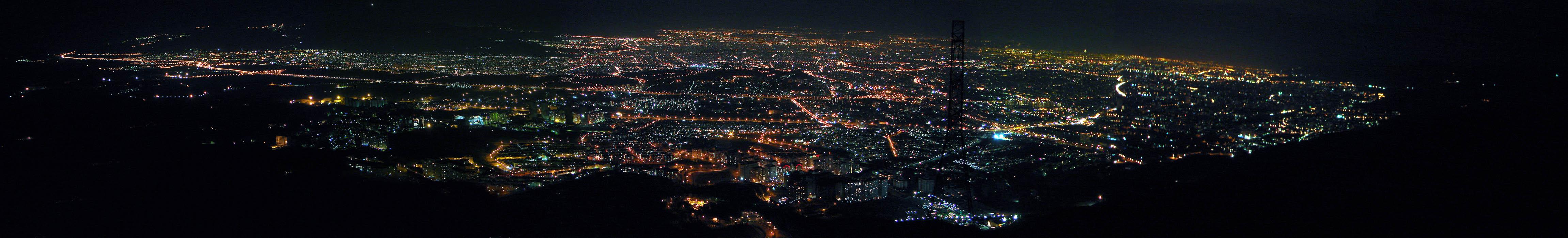 Tehran_Night_Panorama