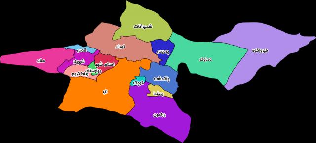 tehran-map