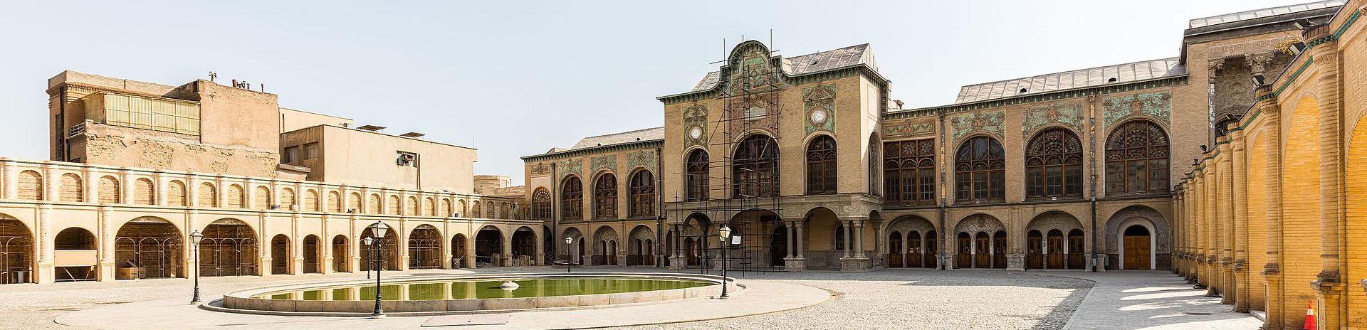 Masoudieh Palace-Tehran