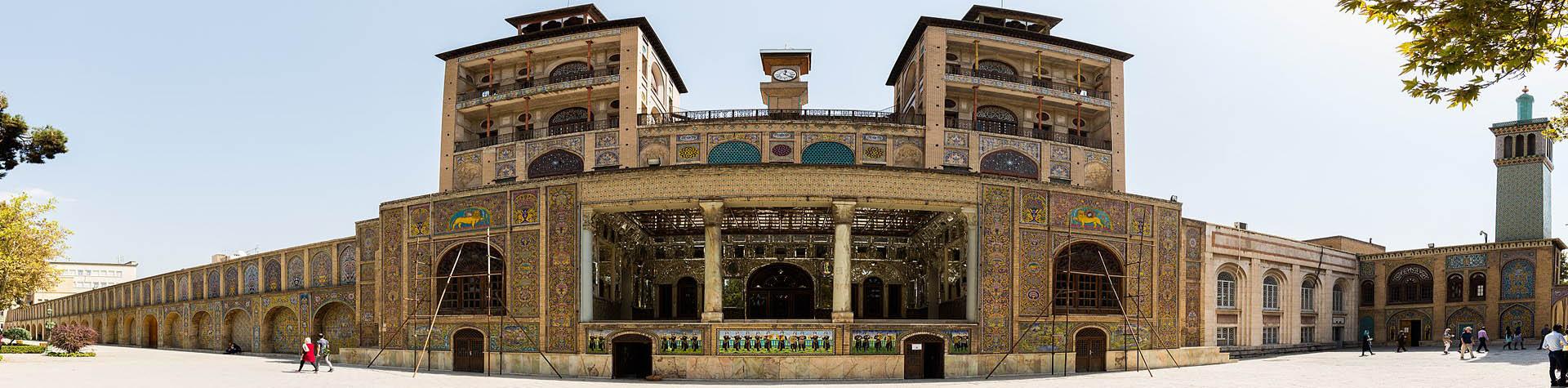 Shams Ol-Emareh-Golestan Palace-Tehran