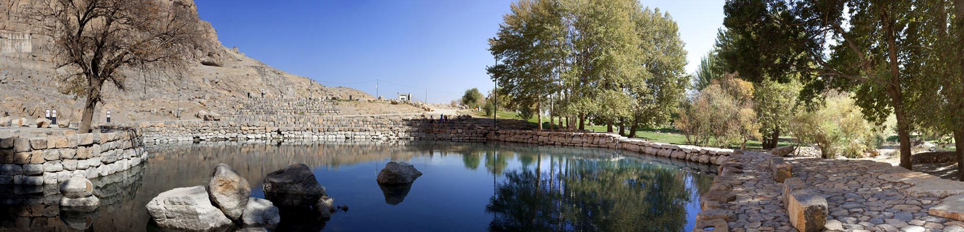 Headwater of Bisotun-Kermanshah Province